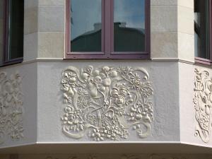 элементы фасада таунхауса